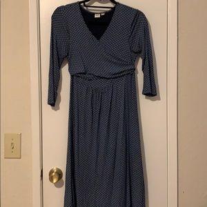 Maternity/Nursing wrap dress